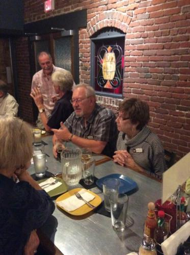 2015 Dinner at Climate City Brewing